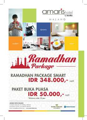Menginap murah di Hotel Amaris Malang Ramadhan Spesial harga khusus hanya Rp 348.000