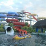 Bugis Waterpark Makassar body slide
