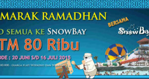 Promo Ramadhan Snowbay Tiket Masuk Hanya Rp 80.000