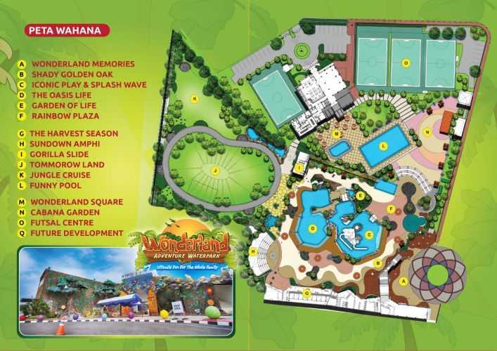 Wonderland Waterpark Karawang Tiket Masuk Juni Juli 2017