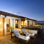 Anantara Seminyak Room Beach Balkon Night