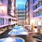 Harper Kuta Bali Kolam Renang Dan Bangunan Hotel