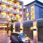 Harper Kuta Bali Suasana Luar Hotel