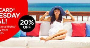 Promo Air Asia Kartu Kredit Mastercard diskon 20% hari Rabu