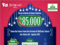 Promo Ramadhan Kidzania tiket masuk hanya Rp 85.000