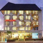 Atanaya Hotel Kuta Bali akomodasi dengan harga terjangkau dan ulasan dangat baik Booking.com - Gedung Hotel