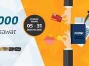 Promo Tiket Pesawat Garuda Indonesia diskon Rp 100.000 menggunakan kode promo BNI100 kartu kredit BNI di Panorama Tour