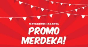 Dalam rangka memperingati hari kemerdekaan RI yang 70 Waterbom Jakarta memberikan harga spesial tiket masuk Hanya Rp 70.000 berlaku untuk anak maupun dewasa