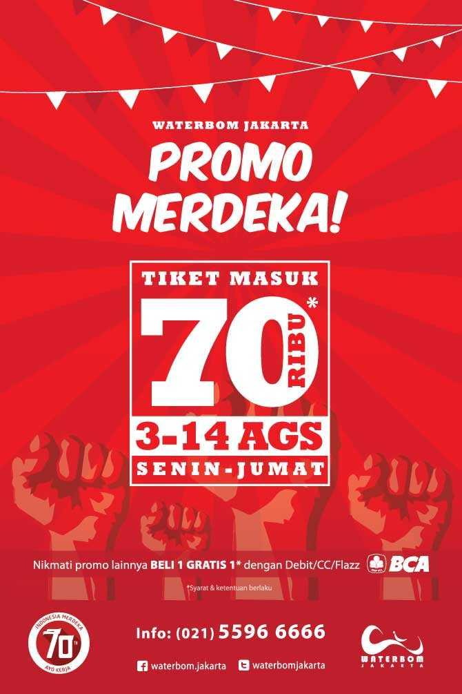Waterbom Pik Jakarta Htm Rp 70k Promo Hari Merdeka