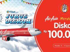 Promo tiket pesawat air asia tiketcom hari merdeka dapatkan potongan harga tiket hingga Rp 100.000