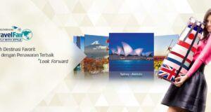 Garuda Travel Fair 2015 saat yang tepat untuk berburu tiket pesawat murah ke Destinasi wisata incaran. Dilangsungkan dibeberapa kota di Indonesia.