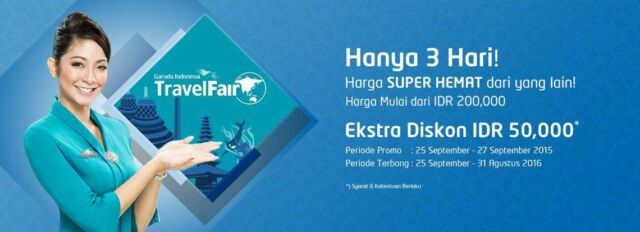 Panorama Tours tidak mau ketinggalan dalam gelaran Garuda Travel Fair 2015. Menawarkan tiket pesawat murah ke berbagai rute.