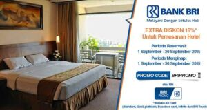 Nikmati kode promo hotel di ticktab diskon hingga 15% dengan menggunakan kartu kredit BRI, MANDIRI, BNI, Mega,dll