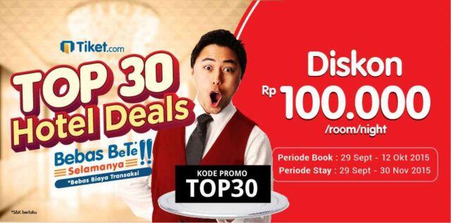 Berencana jalan-jalan ke Malang gunakan kode promo hotel Malang dari tiket.com bisa mendapatkan diskon Rp 100.000/malam/kamar.