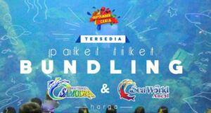 Nimati harga tiket masuk Ancol Ocean Dream Samudra & Sea World dengan tiket masuk bundling.