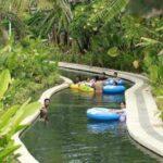 Lazy River Circus Waterpark Bali, Sungai buatan sepanjang 200 meter buat bermalas-malasan.