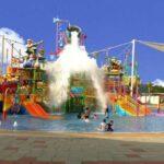 Wahana Go Splash Sangat seru dimainkan anak-anak ketika berkunjung ke Go Wet Grand Wisata Bekasi