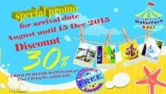 Promo Circus Waterpark Kuta Bali diskon tiket masuk hingga 30% serta diskon menarik lainnya. Update Teruss