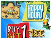 Promo Jungle Waterpark BNR Bogor selama Bulan Oktober 2015, kamu bisa menikmati benefit Buy 1 Get 1 Free Tiket Masuk.