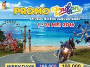 Promo STNK Motor Dufan harga tiket masuk diskon hampir 50%