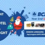 Promo hotel kartu kredit BCA pesan hotel di pegpegi.com dapatkan diskon 13%.
