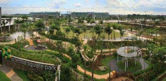 Scientia Square Park Serpong Tangerang Taman Hijau di Tengah Kota