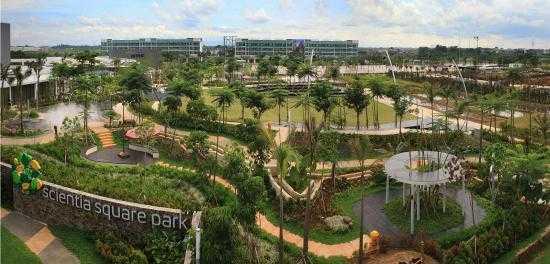 Scientia Square Park Serpong Harga Tiket Masuk Des Jan