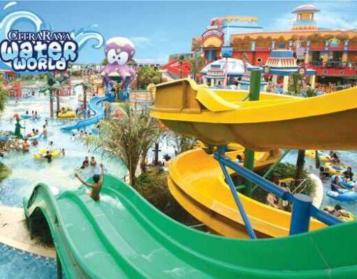 Mau rekreasi ke waterpark di Tangerang langsung saja datang ke Citra Raya Waterworld Tangerang.