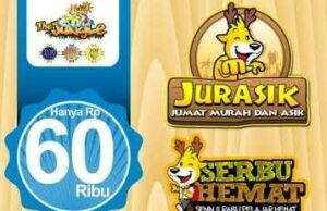 Promo Jungle Bogor Lebih Muarah di hari Selasa Rabu dan Jumat