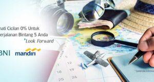 Cicilan 0% Garuda Indonesia Kartu Kredit Mandiri dan BNI