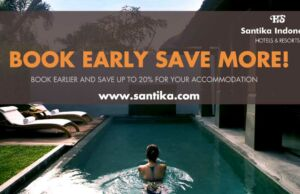 Berbagai promo hotel Santika pesan online diskon hingga 20%.