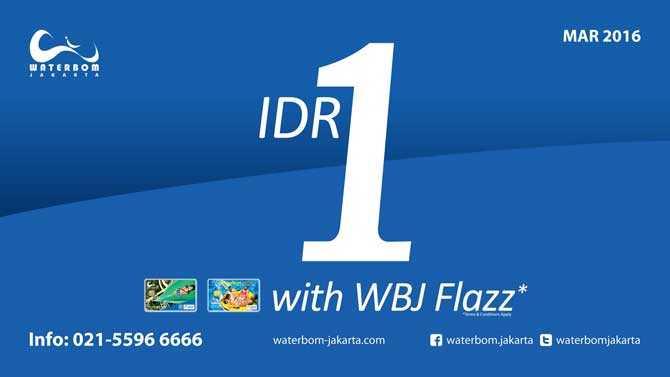 Waterbom Jakarta Pik Tiket Masuk Hanya Rp 1 Travels Promo