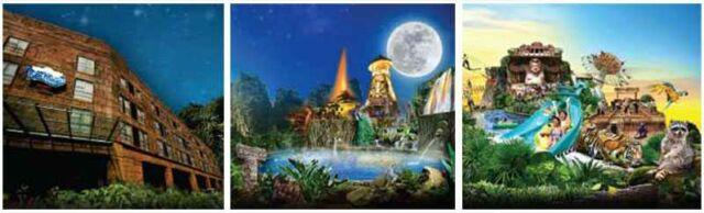 Promo Kartu Kredit Maybank Lost World of Tambun tiket masuk lebih murah.