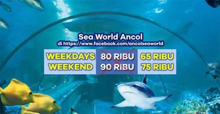 Promo Like Facebook Seaworld Ancol Htm Mulai Rp 65k