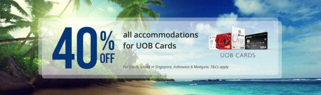 Promo Hotel Kartu Kredit UOB diskon 40% di travelio.