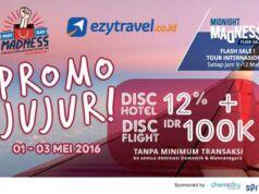 Promo may day diskon hotel dan tiket pesawat hingga Rp 300.000, untuk destinasi domestik dan internasional.