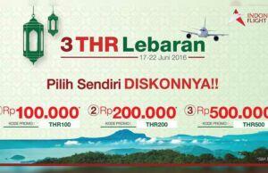 Promo tiket pesawat mudik lebaran diskon hingga Rp 500.000 gunakan Aplikasi IndonesiaFlight.