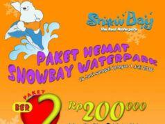 Promo Snowbay khusus lebaran 2016 paket masuk ber 2 dan ber 4 sudah dapat makan lagi.