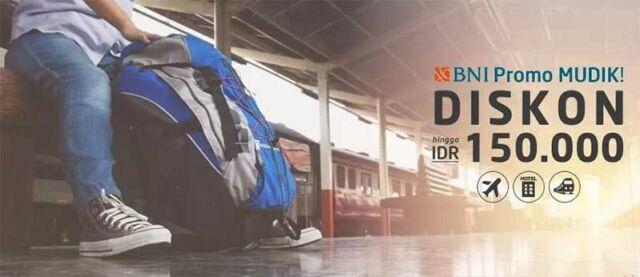 Promo tiket mudik lebaran dapatkan diskon hingga Rp 150.000 baik tiket pesawat maupun tiket kereta api, dan tidak ketinggalan juga Hotel.
