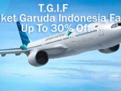 Tiket Pesawat Murah Garuda Indonesia ke Luar Negeri 30% Off