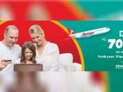 Dapatkan diskon tiket pesawat Rp 70.000 memesan di Airpaz menggunakan kartu kredit atau Debit Online BNI.