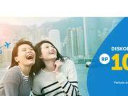 Promo Tiket pesawat traveloka diskon Rp 100.000 gunakan kartu kredit Citi berlogo Visa.