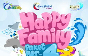 Promo Ancol Seaworld Indomaret Aflamart Seven Eleven harga tiket masuk ber 4 hanya Rp 300.000