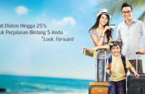 Dapatkan diskon Tiket Pesawat Garuda Indonesia hingga 25% dengan memesan menggunakan kartu BCA.