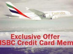 Penawaran ekslusif Emirates dari kartu HSBC diskon 10% dan cicilan 0% selama 3 bulan.