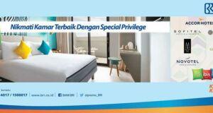 Promo Hotel Kartu Kredit BRI Diskon Hotel 19% di Jaringan Hotel Accor seluruh Indonesia.