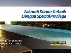 Promo Hotel Kartu Kredit BRI MPHG Max One Hotel Diskon hingga 59% di seluruh Indonesia.