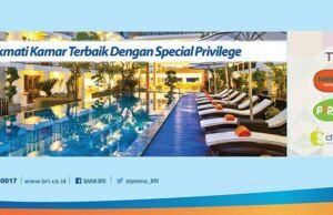 Promo Hotel kartu kredit BRI di Jaringan Hotel Tauzia seperti Harris Hotel, Yellow Hotel, Pop Hotel.