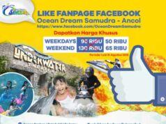 Promo Like Facebook Ocean Dream Samudra Ancol Harga tiket lebih murah