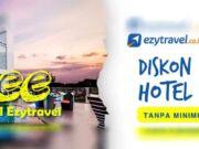 Diskon hotel 12% menggunakan kartu kredit BRI di Ezytravel lakukan pemesanan pada hari Jumat.